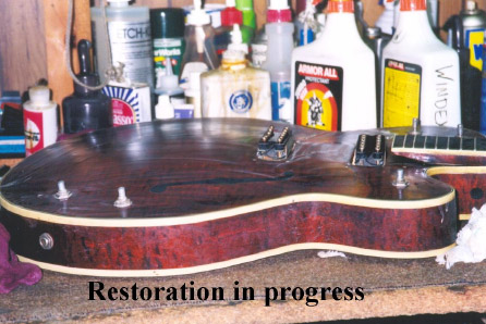 Restoration  in Progress