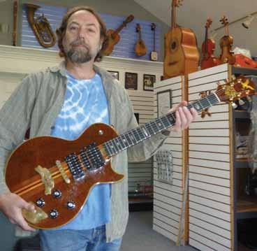 Doug Irwin's 1973 'Les Paul Style' Electric Guitar » A & D Musical